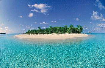 Maldives Reethi Beach lagoon
