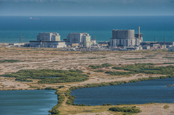 Aerial view of Denge Marsh and Dungeness Nuclear Power Station-2