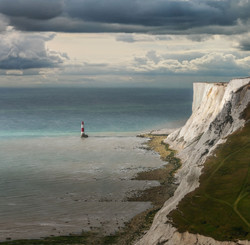 Beachy head Lighthouse, the seven sisters only English Channel, Kent-34