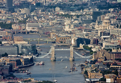 Tower Bridge, City of London and the River Thames