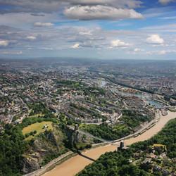 Clifton Suspension Bridge, city of Bristol