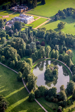 The buriel site of Princess of Wales, Althorp House Northamptonshire