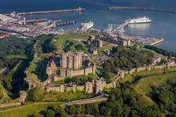 Dover castle, Port of Dover, Kent