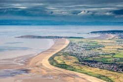 North East Somerset coastline and the Bristol Channel