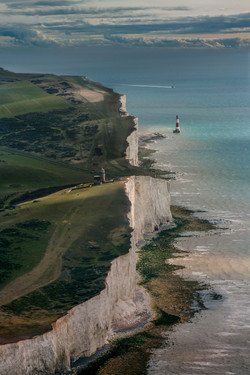Beachy head Lighthouse, the seven sisters only English Channel, Kent-58