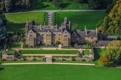 Aerial Photograph of Batsford House, Gloucestershire-2