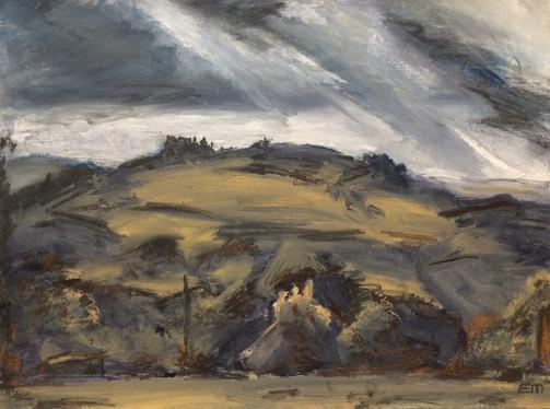 Castell Carreg Cennen Sitting on the Hilltop 1 - SOLD