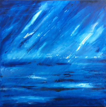 Cobalt covered with Prussian Blue - SOLD