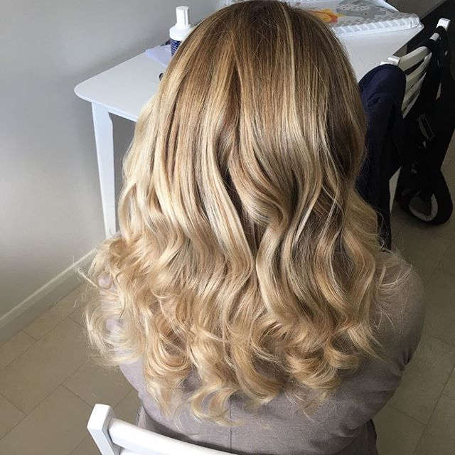 Brassy highlights to a toned down ombré effect.jpg