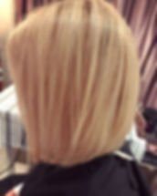 Tonight's work 💇🏼🙌 swipe for the before! #hairstyles #hairinspo #blondehighlights #blondebob