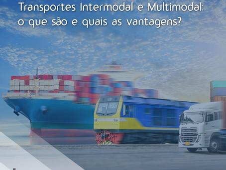 Transporte Intermodal e Multimodal: o que são e quais as vantagens?