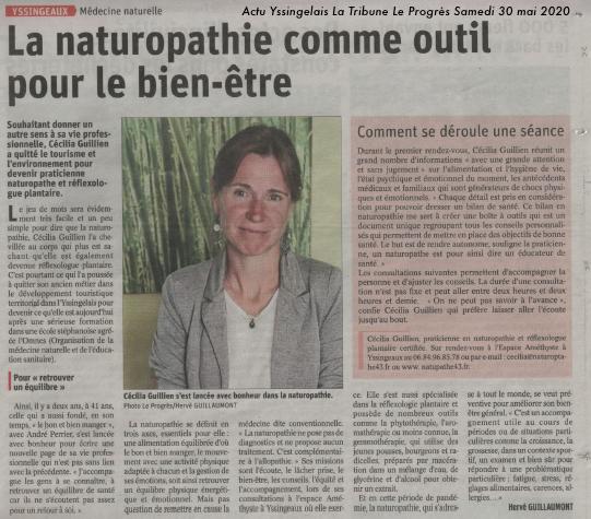 La Tribune Le Progrès Médecine naturelle