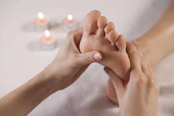 Massage bien-être des pieds pour retrouver l'équilibre