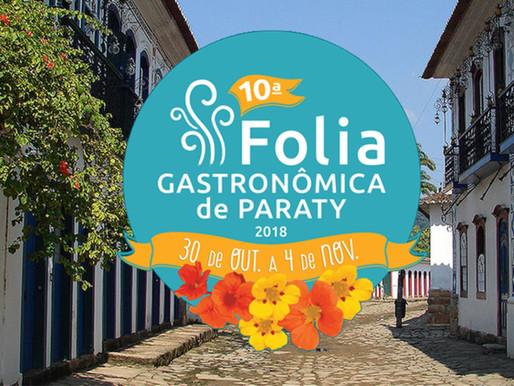 Folia Gastronômica em Paraty 2018