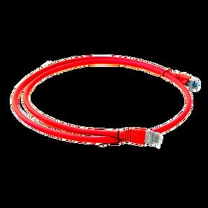 Patch cord RJ-45/RJ-45 - Cat 6A - 2 mt PIMF Color Rojo 711819-2