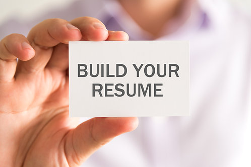 Resume Build-out