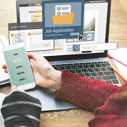 Online Job Application Management - $50 for each Job Application