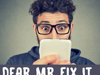 Dear Mr. Fix It: Estimator Appointments