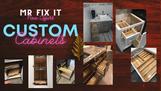 Mr. Fix It Offers Custom Cabinets!