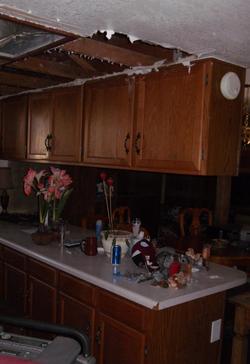 Kitchen Restoration Before