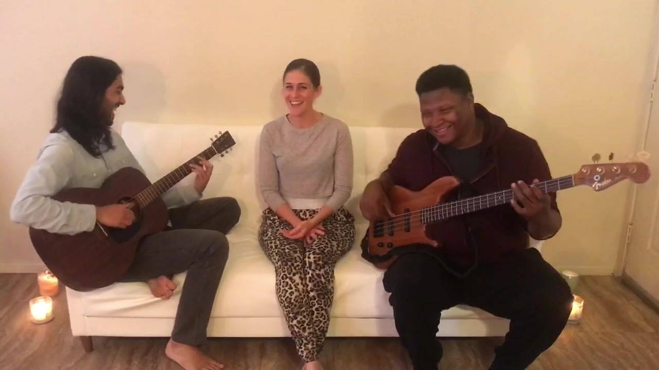Redbone | Childish Gambino | Couch Covers featuring Joshua McClanahan (neighbors creepin') . . . #CouchCovers Ananda Dhar-James