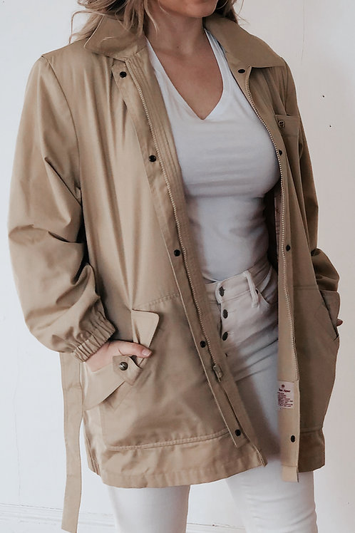 80's Aigner Rain Coat