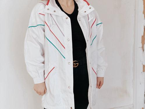 90's Neon Striped Jacket