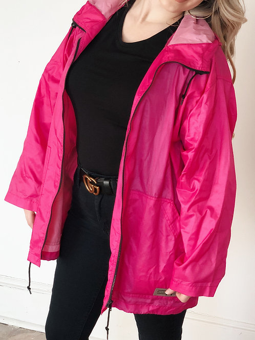 90's Pink Windbreaker