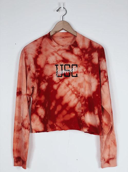 USC Tie Dye Crop