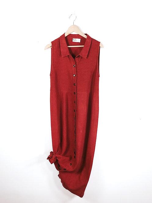 Red Rustic Maxi