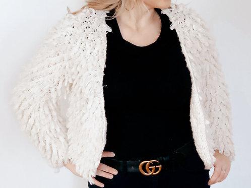 Y2K Fringe Sweater