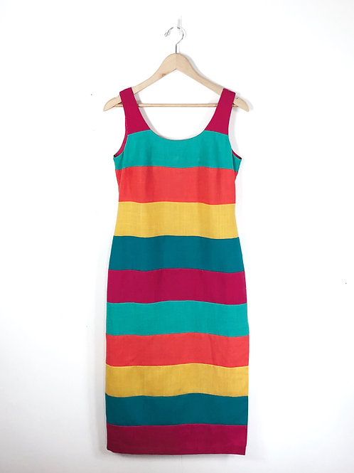 Loopy Striped Dress