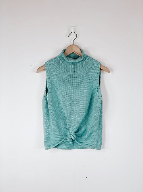 Teal Sweater Tank