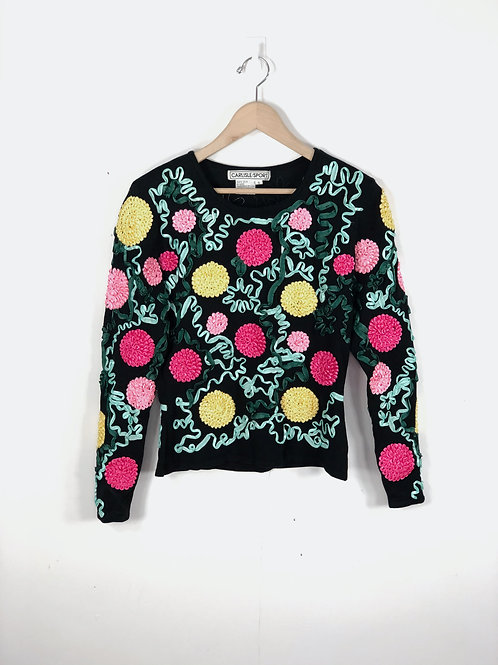 Blooming Botanical Sweater
