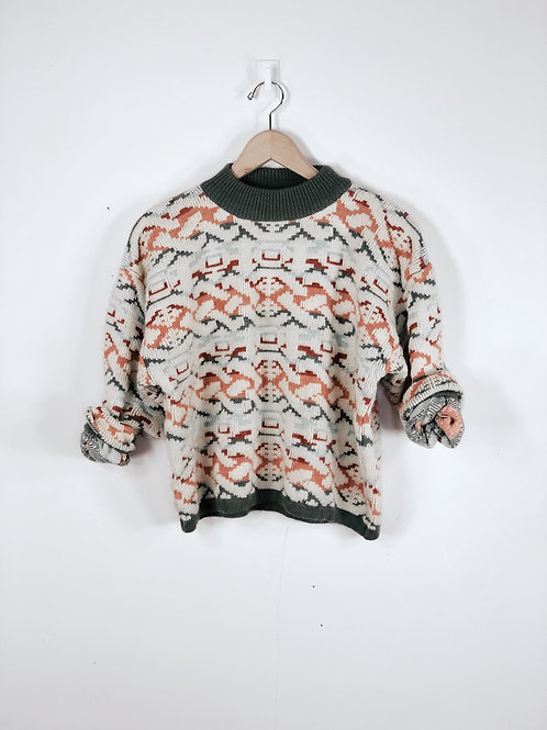 Aztec Printed Sweater