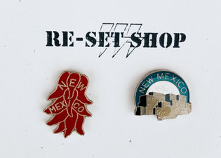 NEW MEXICO ENAMEL PINS
