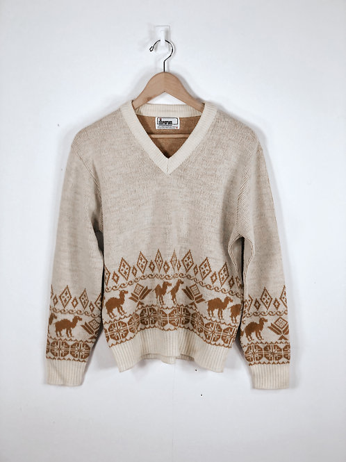 70'S Camel Sweater