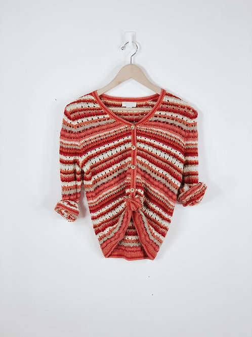 Topical Sunset Sweater