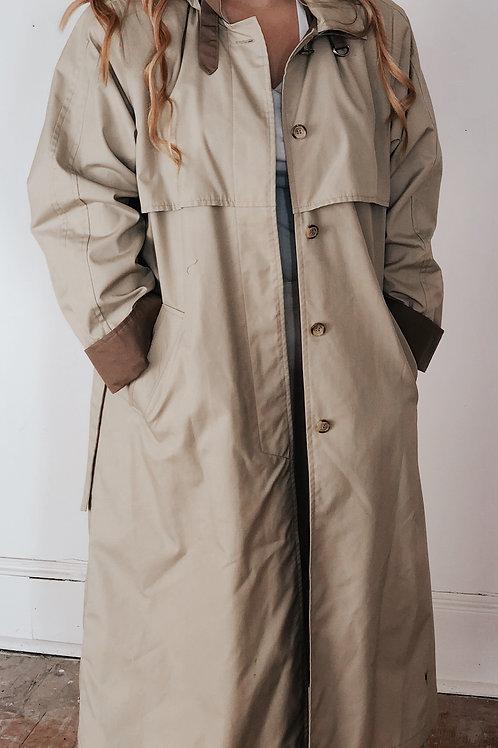 90's Oversized Trench Coat