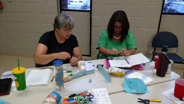 Making Bianary Birthday Bracelets