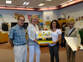 Sister Cities Visits Balls Creek Elementary School's STEAM Lab and Maker Space