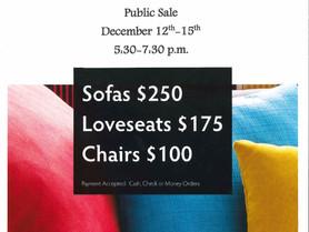 Alexander Furniture Academy Furniture Showroom Public Sale - December 12-15