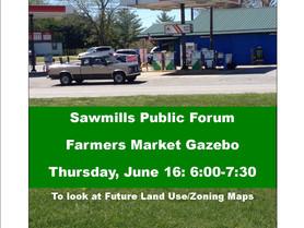 Sawmills Public Forum - Farmers Market Gazebo