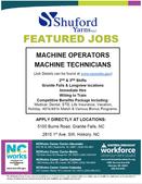 Shuford Yarns LLC Featured Jobs