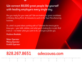 Adecco - Your New Job Starts Right Here.