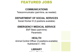 Caldwell County Government Featured Jobs