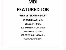 Featured Job - MDI