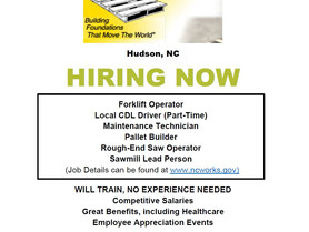 Carolina Base-Pac Corporation is Now Hiring!