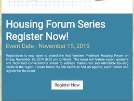 WPCOG Housing Forum Series -Register Now