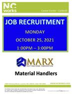 Recruitment Event - Marx Cutting Edge Fabrication